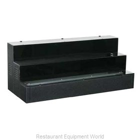 Glastender LLD3-72R Liquor Bottle Display Countertop