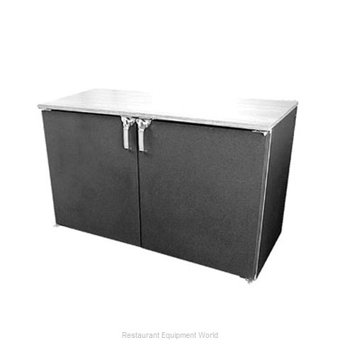 Glastender LP48 Backbar Cabinet Refrigerated