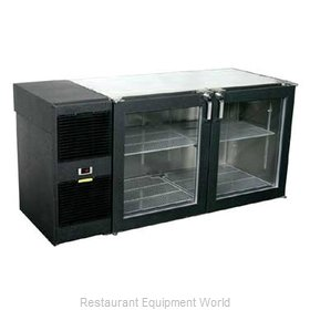 Glastender LP60 Backbar Cabinet Refrigerated