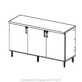 Glastender LP72 Backbar Cabinet Refrigerated