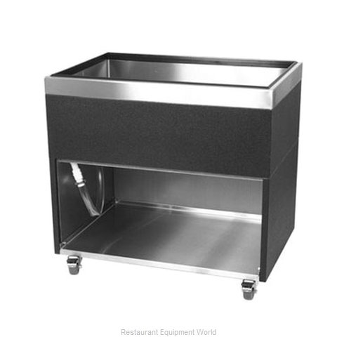 Glastender MIB-36 Underbar Beer Bin, Ice Cooled