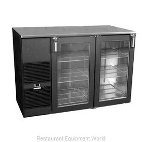 Glastender ND52 Backbar Cabinet Refrigerated