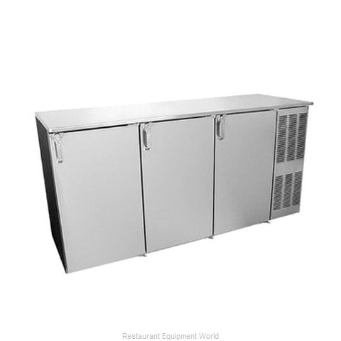 Glastender ND72 Back Bar Cabinet, Refrigerated