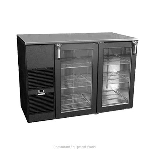 Glastender ND72BW Backbar Cabinet Refrigerated