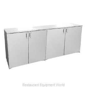 Glastender ND80-N Backbar Cabinet Refrigerated