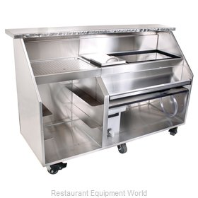 Glastender PBG72-12 Portable Bar