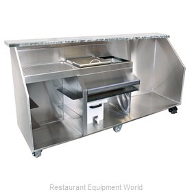 Glastender PBGR96-18 Portable Bar