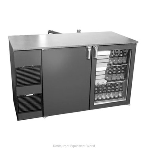 Glastender PT60-H Backbar Cabinet Refrigerated