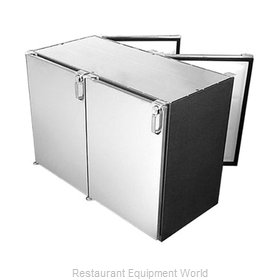 Glastender PT72-N Backbar Cabinet Refrigerated
