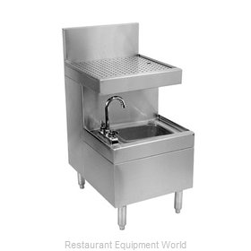 Glastender SWB-18-DB Wet Waste Sink