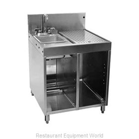 Glastender SWB-24L-C Underbar Sink Units