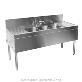 Glastender TSB-66R-S Underbar Sink Units