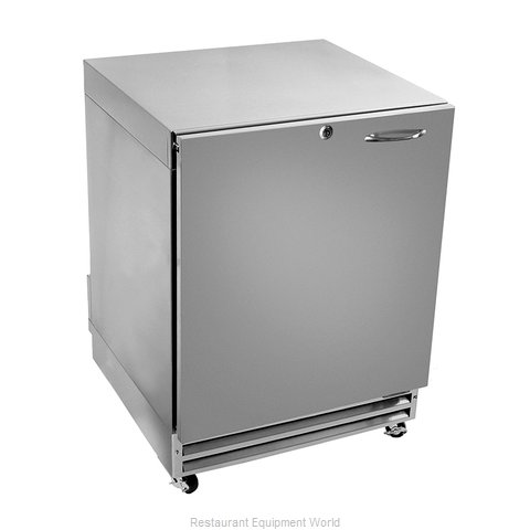 Glastender UCR24S-R Reach-in Undercounter Refrigerator 1 section (Magnified)