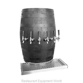 Glastender WB-5-BR Draft Beer / Wine Dispensing Tower