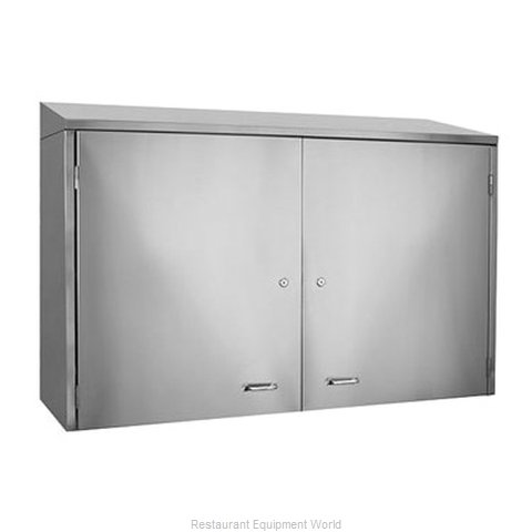 Glastender WCH48 Cabinet, Wall-Mounted