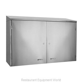 Glastender WCH96 Cabinet, Wall-Mounted