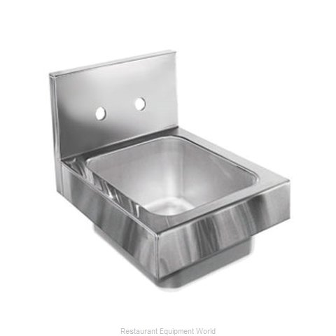 Glastender WH-12-LF Sink, Hand (Magnified)