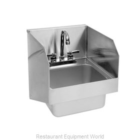 Glastender WH-14-S Wall-Hung Hand Sink