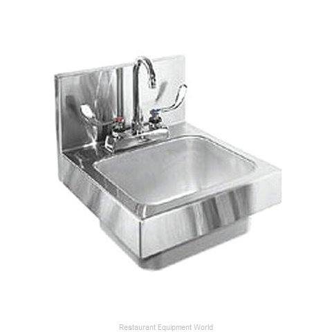 Glastender WH-14 Sink, Hand (Magnified)