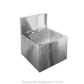 Glastender WHS-14-LF Wall-Hung Hand Sink