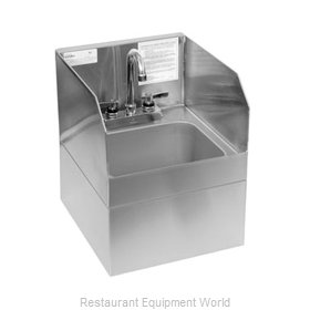 Glastender WHS-14-S Wall-Hung Hand Sink