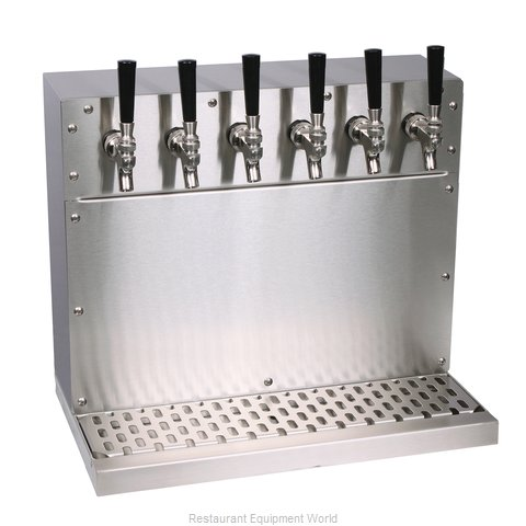 Glastender WT-4-SSR Draft Beer Dispensing Tower Head Unit (Magnified)