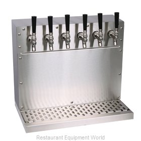 Glastender WT-6-SSR Draft Beer / Wine Dispensing Tower