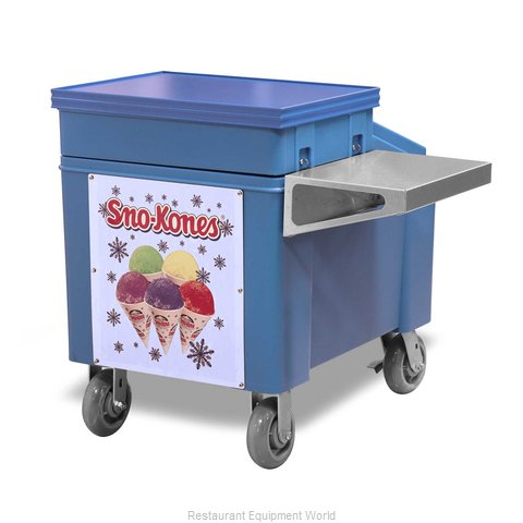 Gold Medal Products 1025 Shaved Ice Snow Cone Accessories