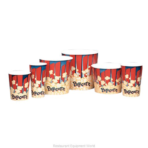 Gold Medal Products 1196RB Popcorn Bag Box