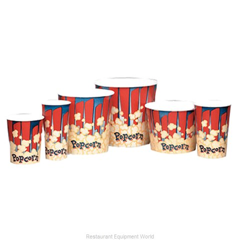 Gold Medal Products 2170RB Popcorn Bag Box