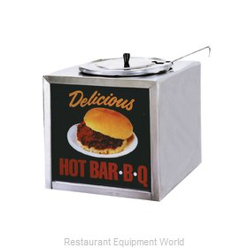 Gold Medal Products 2196 Food Topping Warmer, Countertop