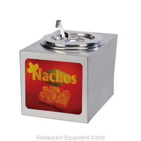 Gold Medal Products 2365 Food Topping Warmer, Countertop