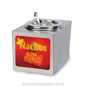 Gold Medal Products 2365LS Nacho Cheese Warmer