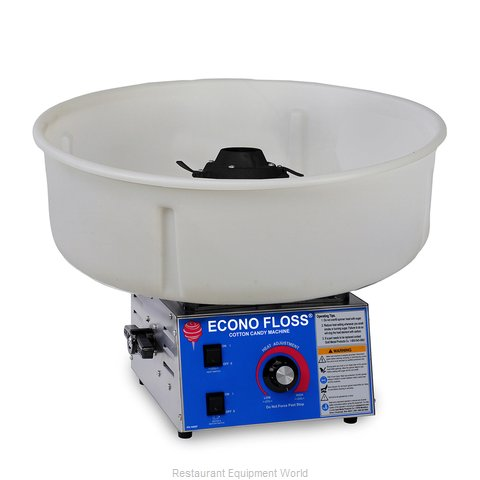 Gold Medal Products 3017-00-010 Cotton Candy Machine & Display