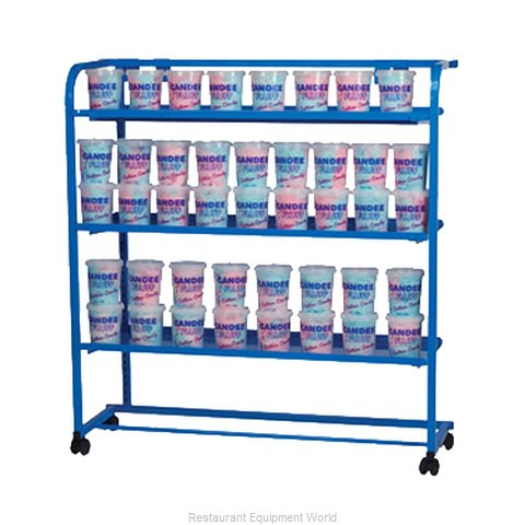 Gold Medal Products 3698 Display Rack Mobile