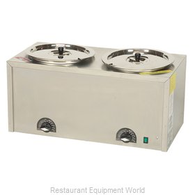 Gold Medal Products 4211 Food Topping Warmer, Countertop