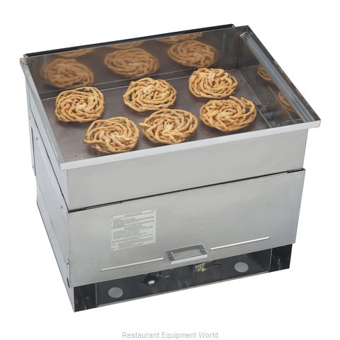 Gold Medal Products 5099NS Fryer Counter Unit Gas Full Pot