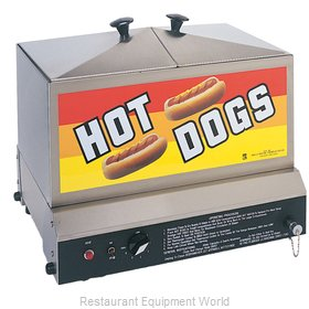 Gold Medal Products 8007 Hot Dog Steamer