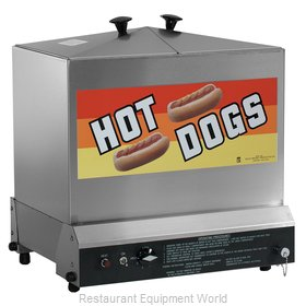 Gold Medal Products 8012 Hot Dog Steamer
