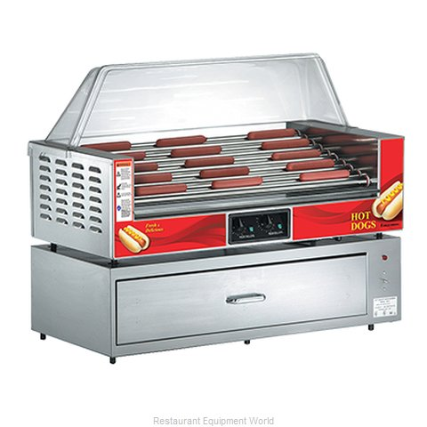Gold Medal Products 8025 Hot Dog Grill