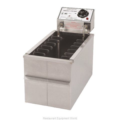 Gold Medal Products 8047D Fryer Counter Unit Electric Full Pot