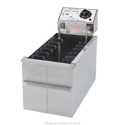 Gold Medal Products 8048D Fryer Counter Unit Electric Full Pot