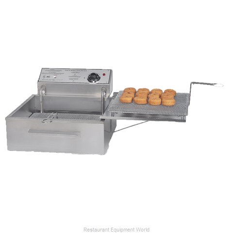 Gold Medal Products 8049D Fryer Counter Unit Electric Full Pot