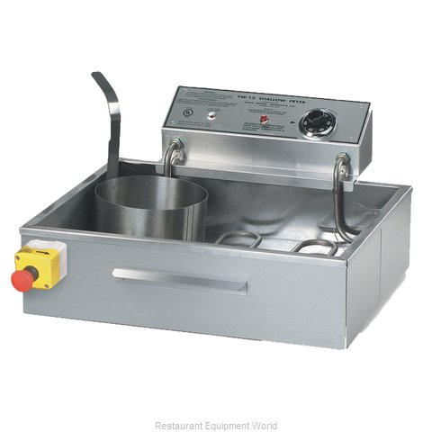 Gold Medal Products 8050D Fryer Counter Unit Electric Full Pot