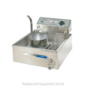Gold Medal Products 8051D Fryer Counter Unit Electric Full Pot