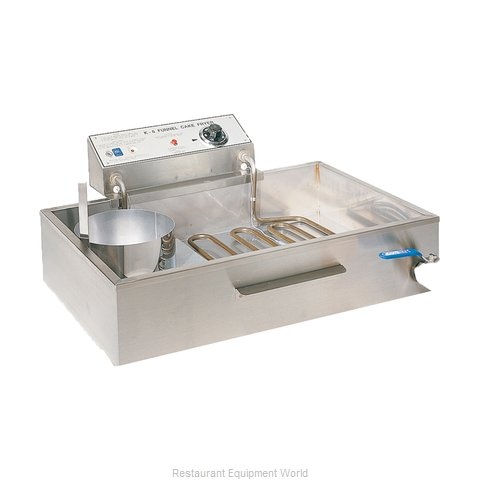 Gold Medal Products 8075 Fryer, Electric, Countertop, Full Pot