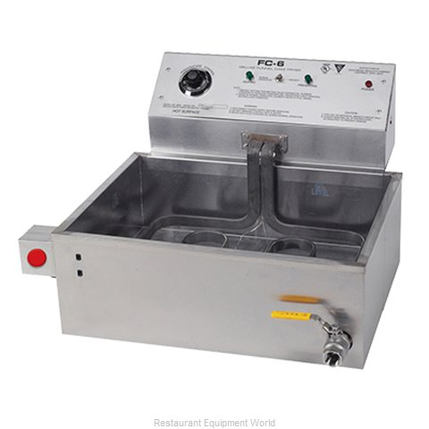 Gold Medal Products 8090 Fryer Counter Unit Electric Full Pot