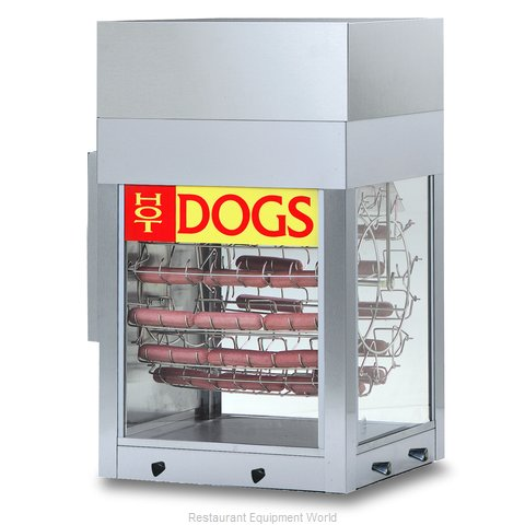 Gold Medal Products 8102 Hot Dog Broiler Rotisserie Type