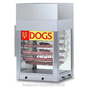 Gold Medal Products 8102 Hot Dog Broiler / Rotisserie