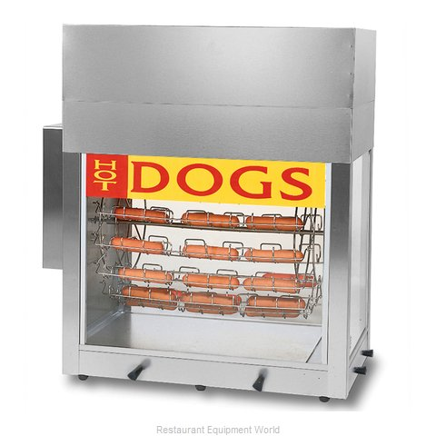 Gold Medal Products 8103 Hot Dog Broiler Rotisserie Type